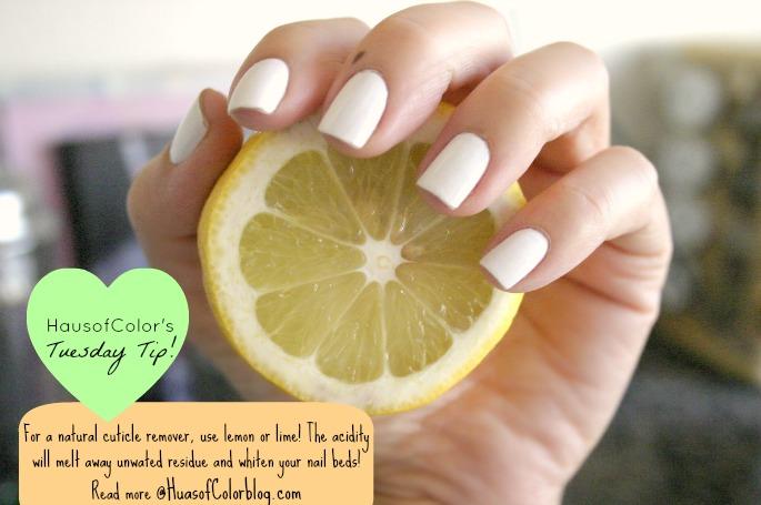 Natural Cuticle Remover Diy