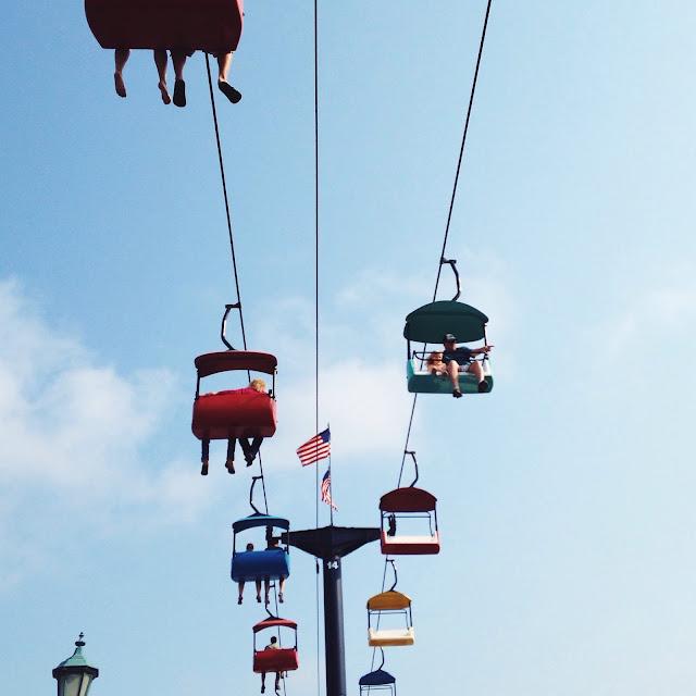 Sky Glider at the Minnesota State Fair