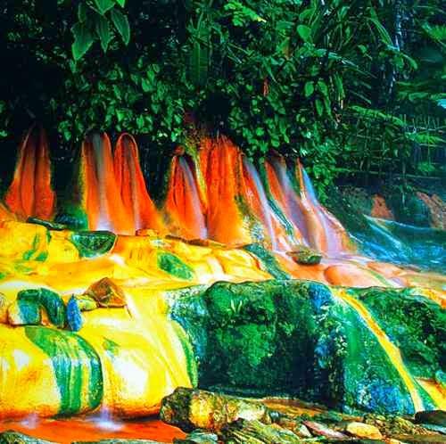 Pancuran Pitu - Tempat wisata di baturaden yang alami