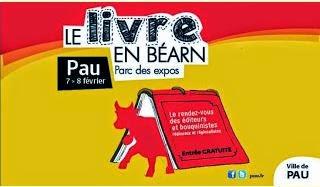 Le livre en Béarn 7 et 8 février Foire exposition de Pau