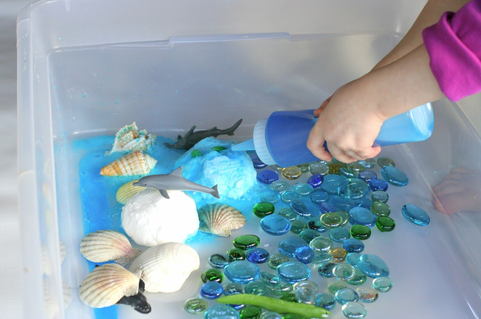 Fizzing Hidden Ocean World from Fun at Home with Kids