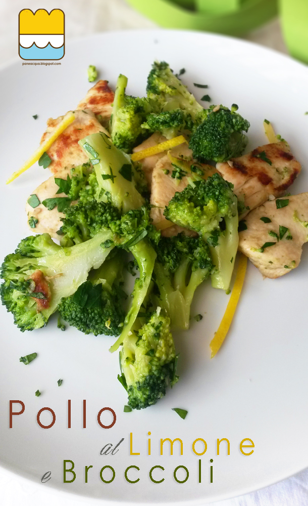 n.15 di...101 modi di cucinare il pollo, pollo al limone e broccoli...bloggalline e fuori salone...