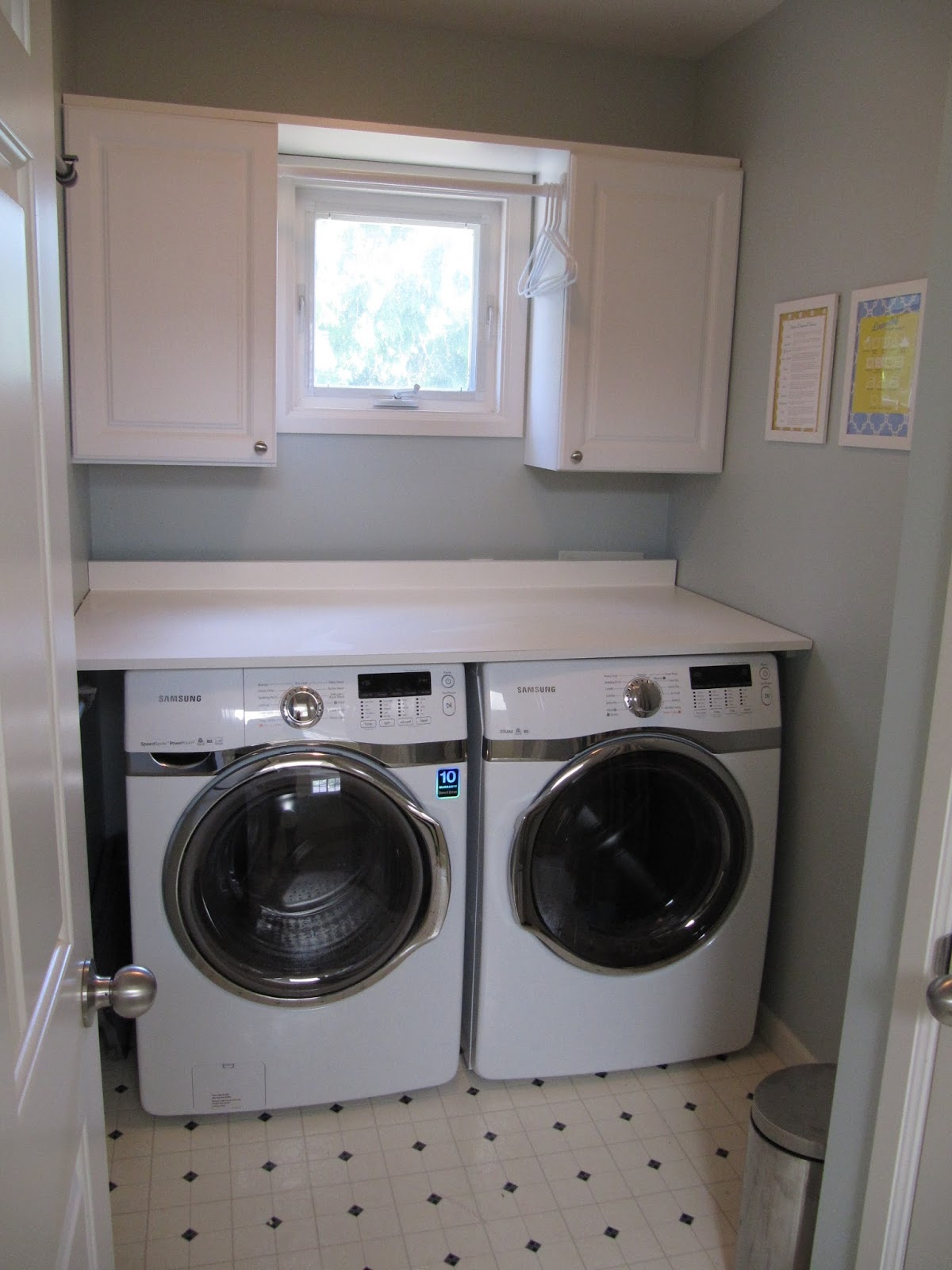 Everyday Organizing An Organized Laundry Room The Reveal