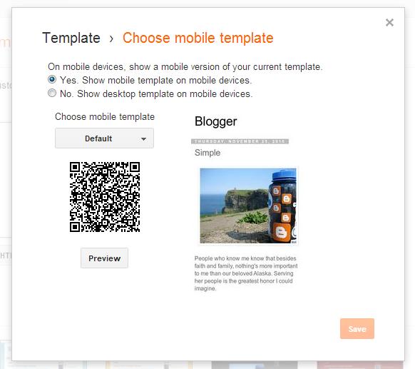 Cách tạo menu hiển thi trên mobile cho blogspot