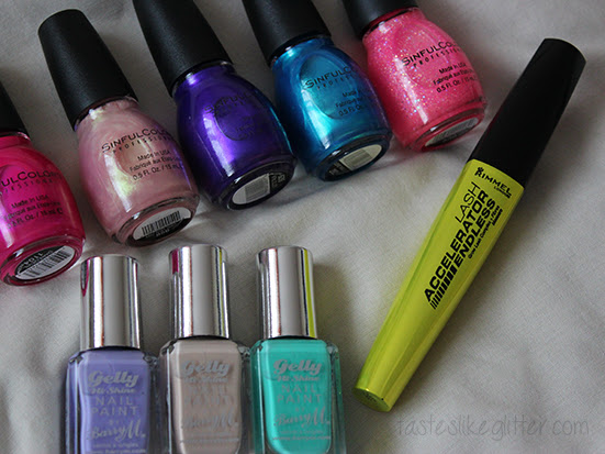 New In: Pretty Polishes.