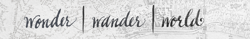 wonder | wander | world