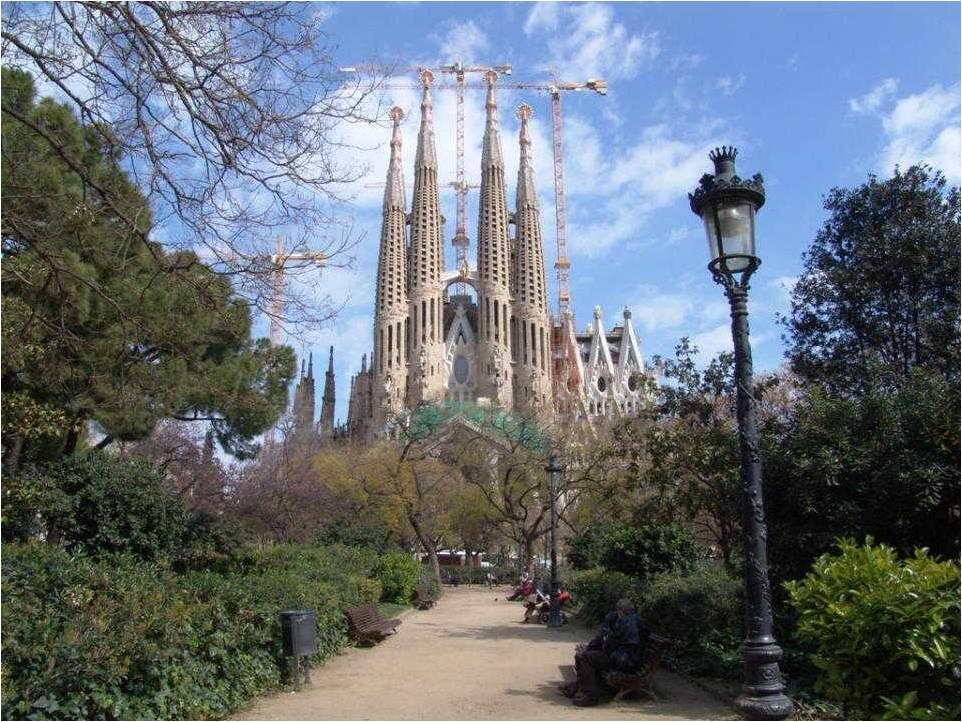 Templo expiatorio de la sagrada familia en barcelona for De la sagrada familia