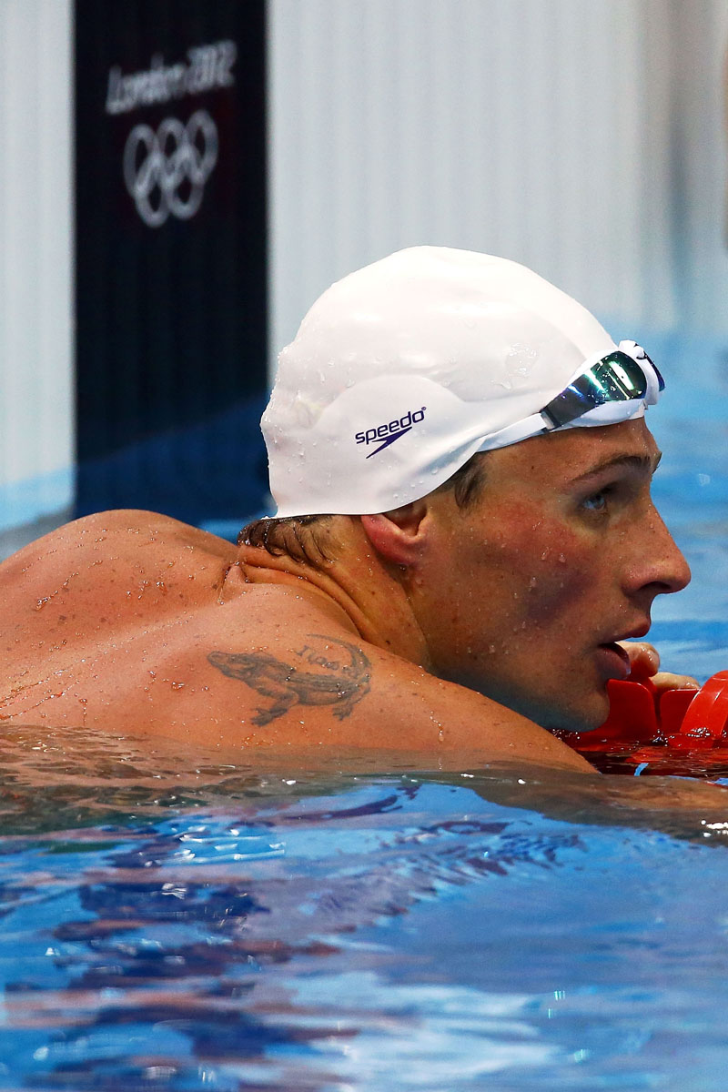 Ryan Lochte Tattoos