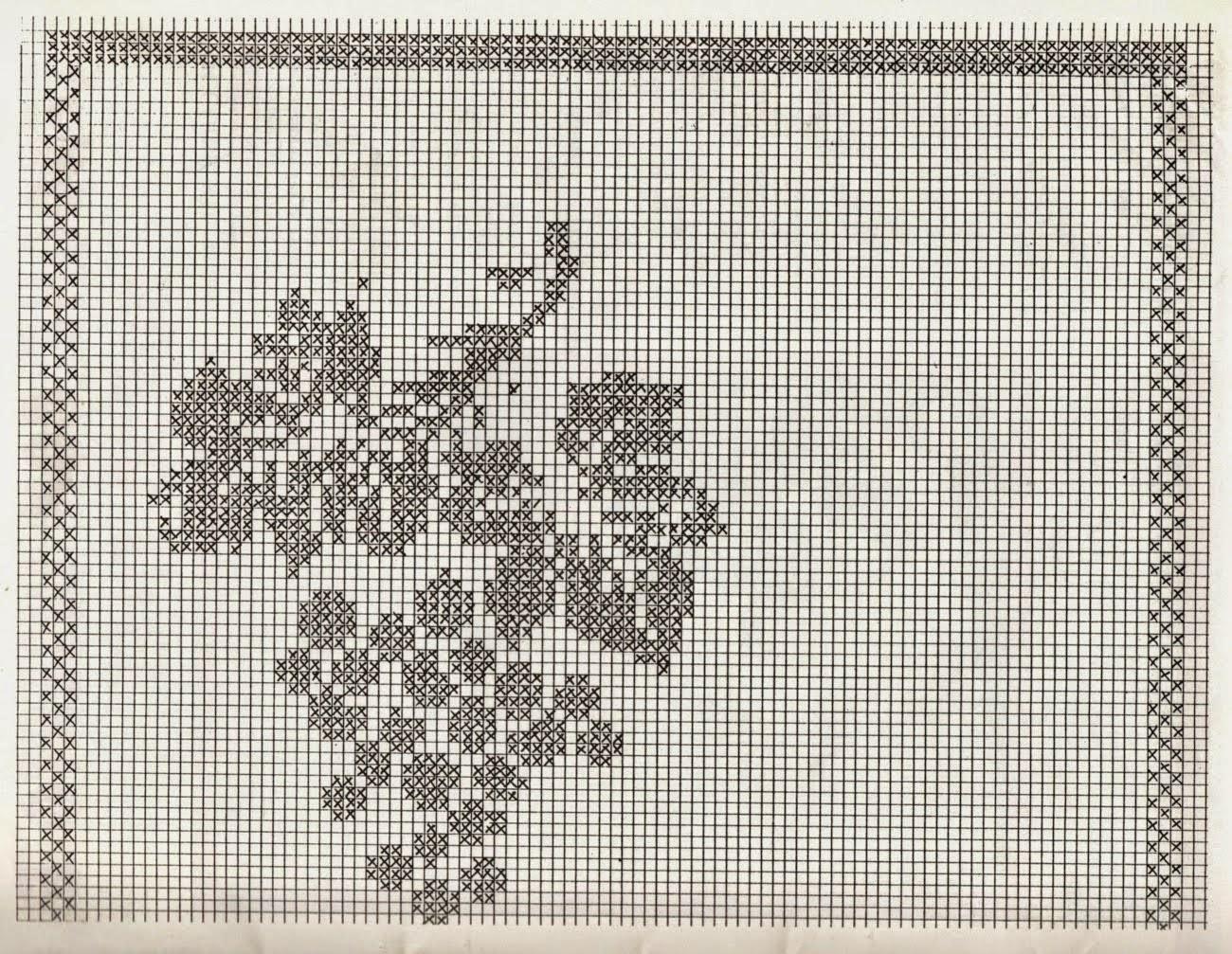 Hobby lavori femminili ricamo uncinetto maglia tende - Tendine filet per bagno ...