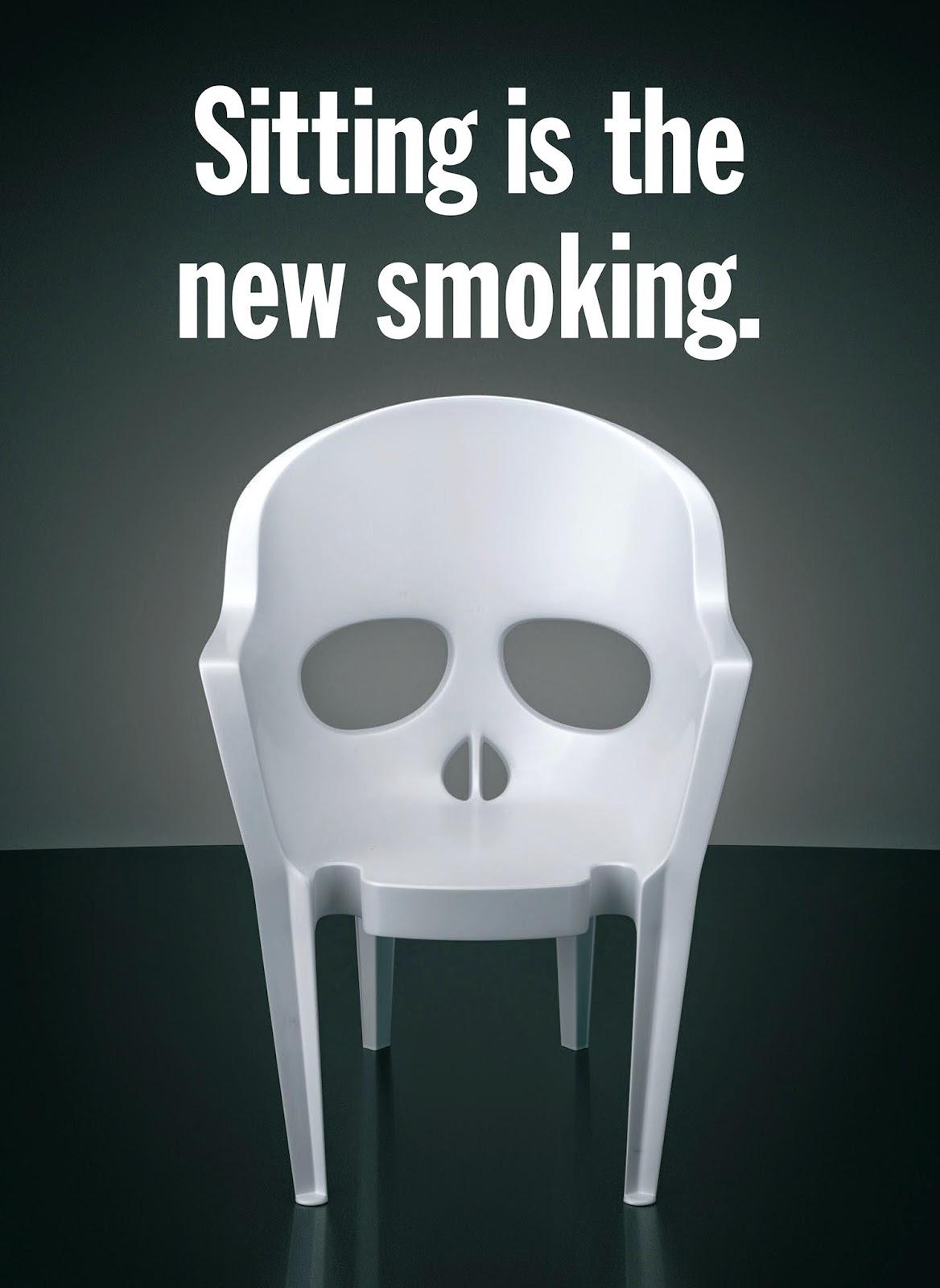 นั่งมากเกินไป ก็อันตรายพอๆ กับสูบบุหรี่