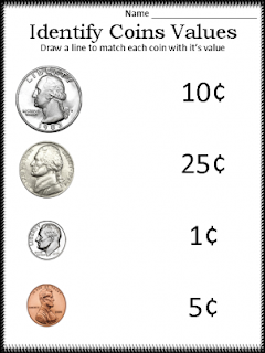 ... : Free Printable Money Worksheets to Teach Kids the Value of Money