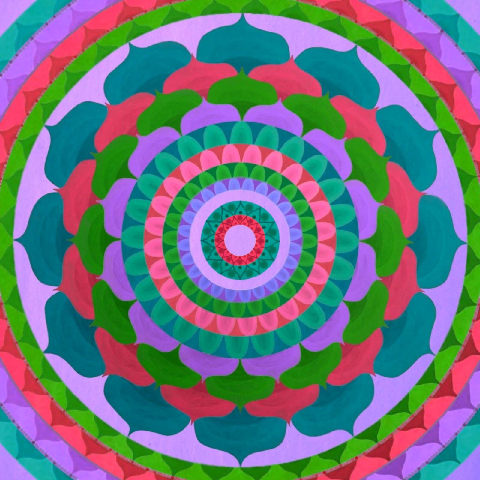 Mandala gallery Gaudy flower Mandala