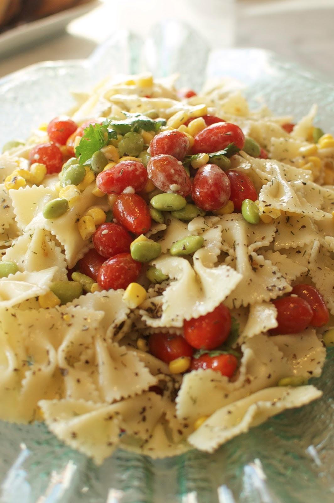 Gastronomic (Mis)Adventures : Recipe: Wasabi Pasta Salad