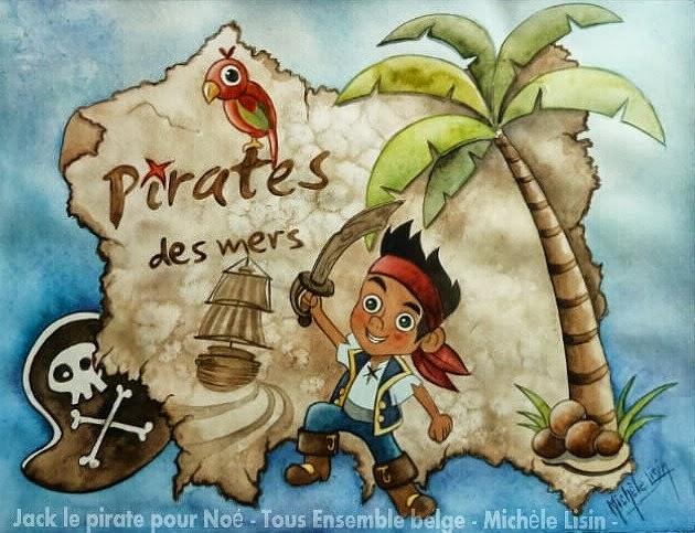 Miroir et mascarade pour un cri de pirate - Jack et le pirate ...