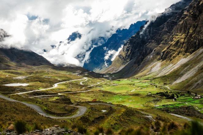 Estrada mais perigosa do mundo: Camiño a los Yungas - Estrada da morte