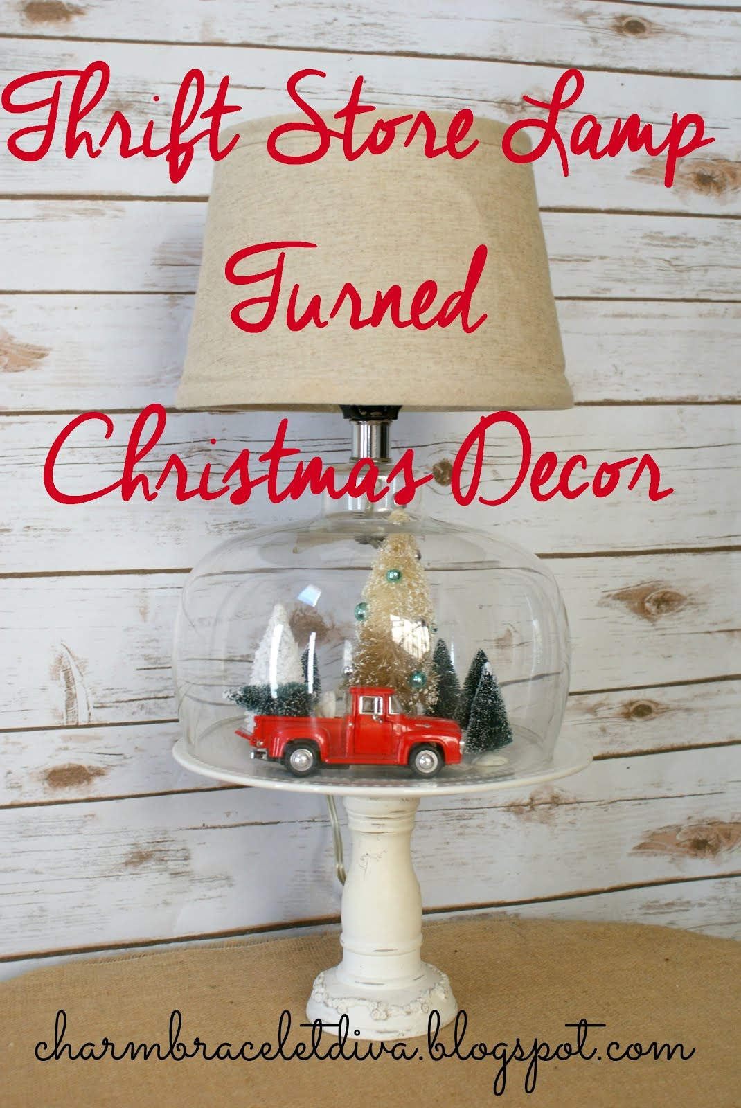 Thrifty Christmas Decor!