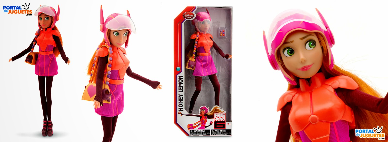 muñeca honey lemon big hero 6 disney store