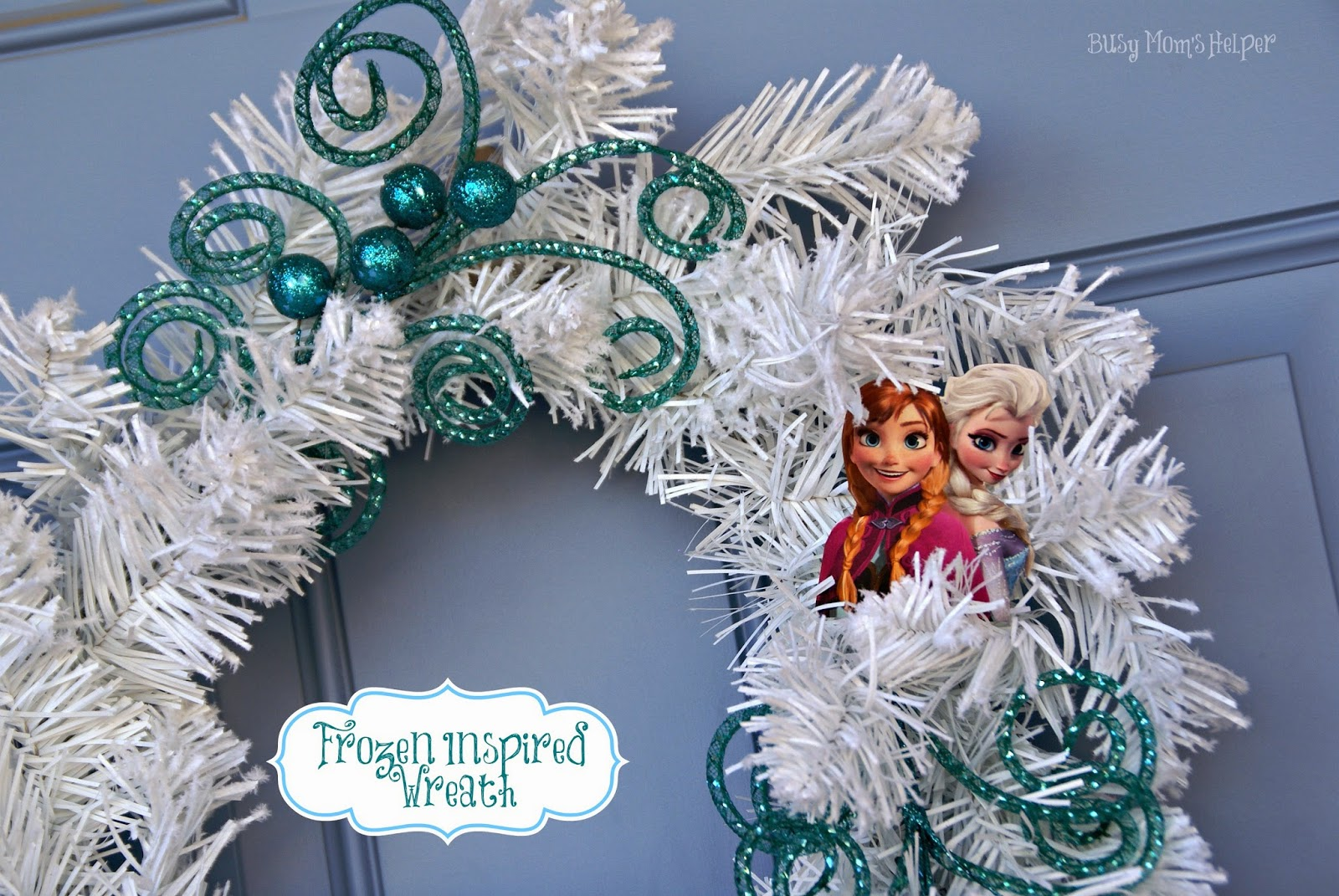 Frozen Inspired Wreath