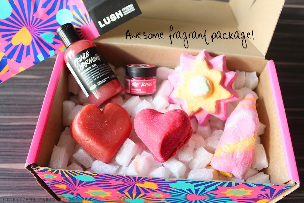 LUSH Valentine's Day 2015