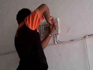 Service perbaikan listrik Potro agung