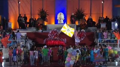 #JMJRio2013: Festa da Acolhida apresenta arte, cultura e religiosidade ao Papa