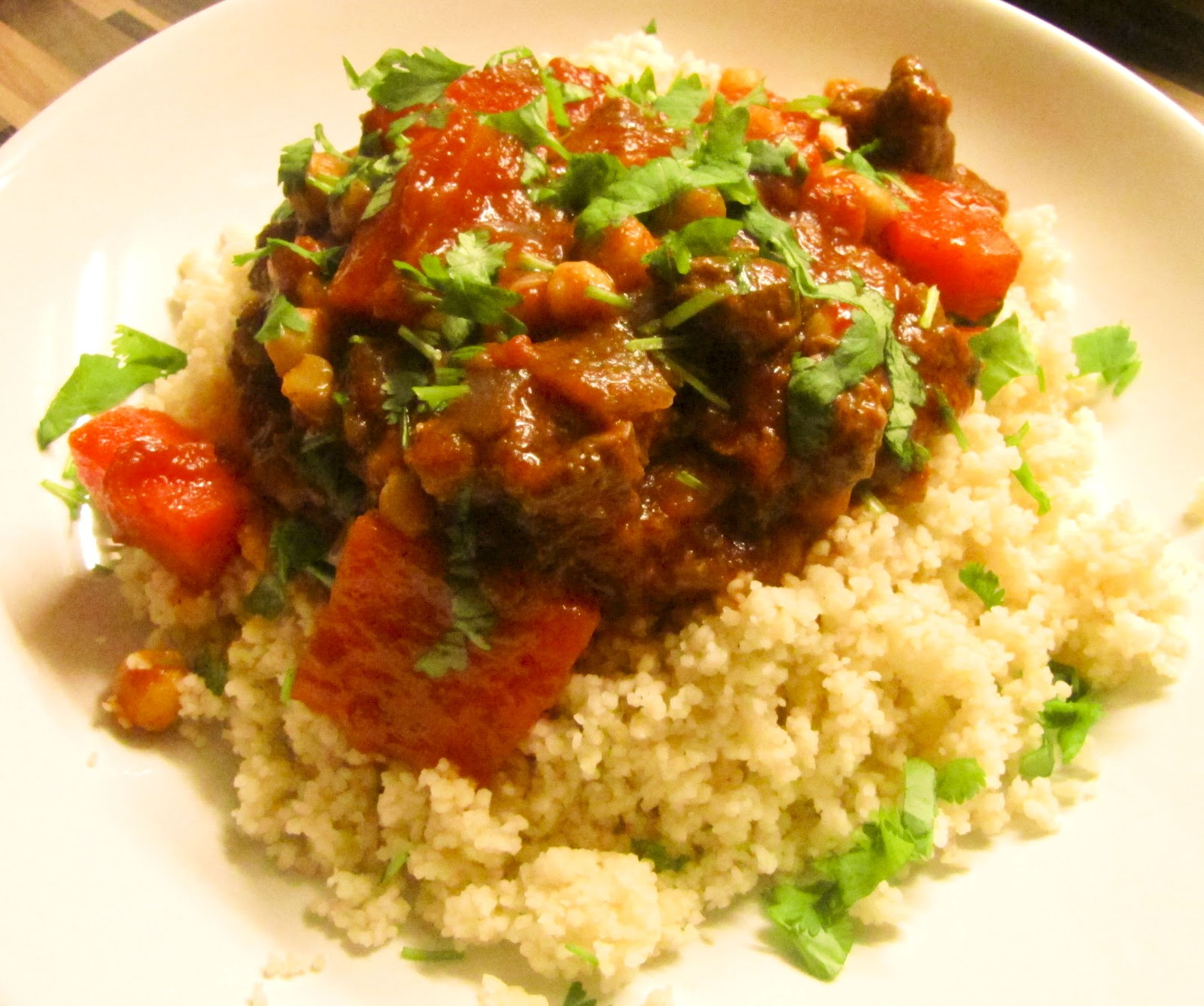 The Midnight Feast: Spicy Moroccan Lamb Stew