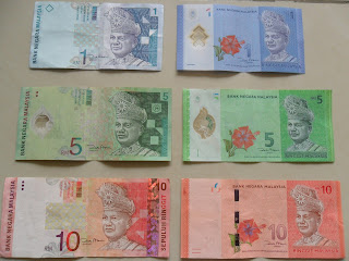Expat Abroad: New notes and Coins: Malaysian Ringgit