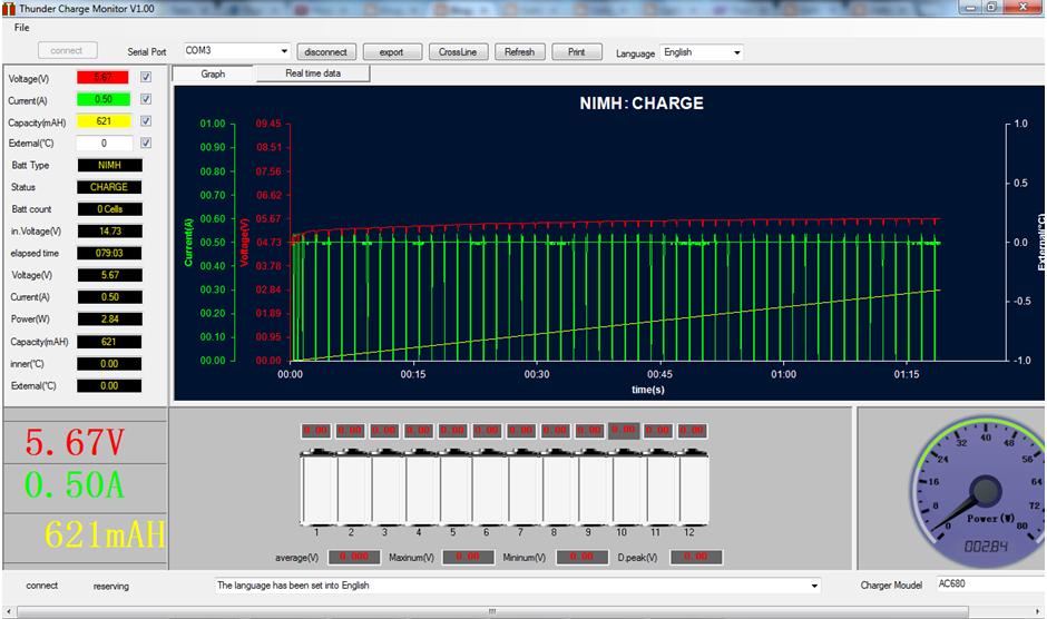 Thunder Ac680 Ac6 Charger Amp Data Logging Software Flite Test