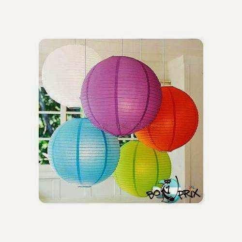 Como hacer lamparas chinas lamparas de papel ingeniando for Como hacer que los globos se queden en el techo