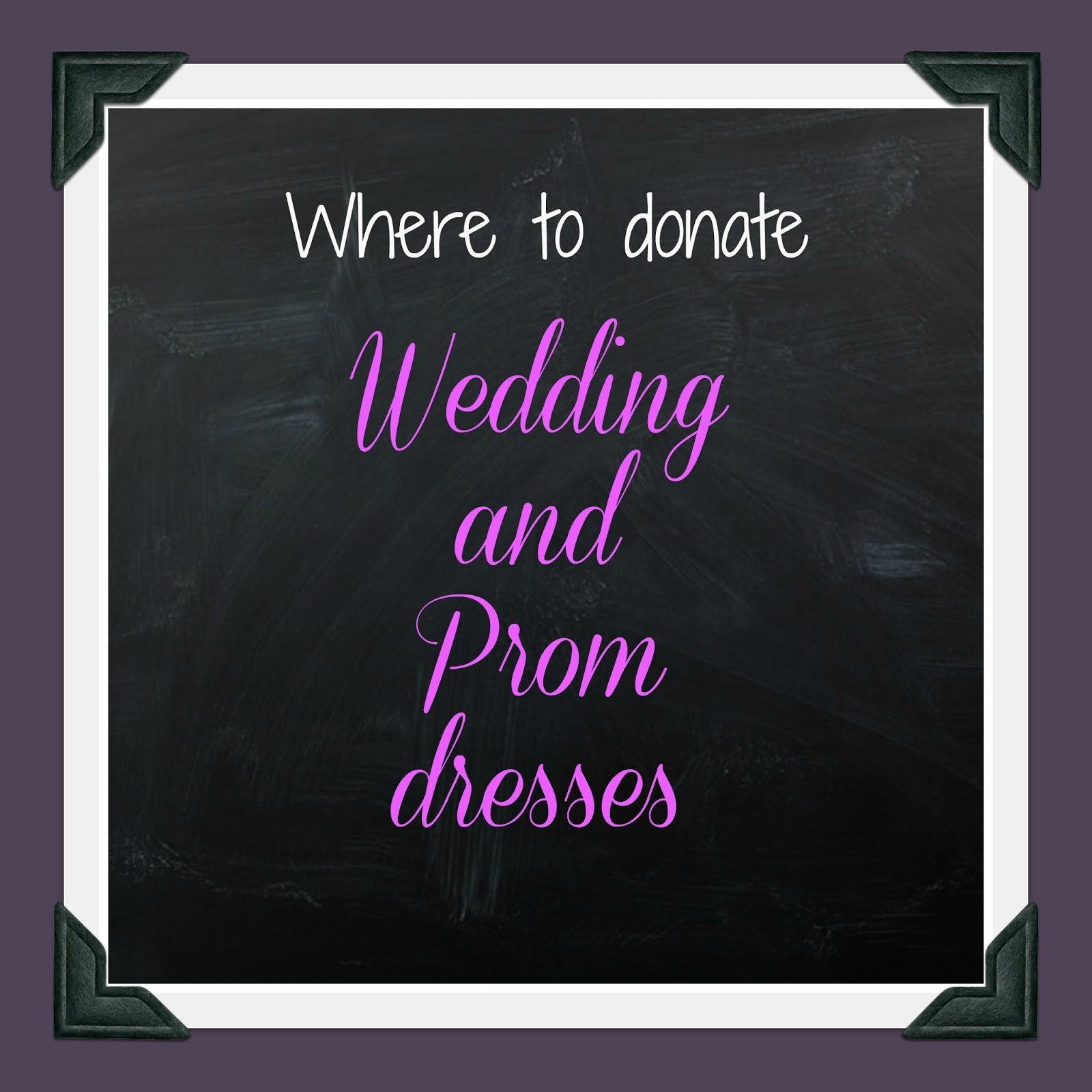 Donating Wedding Dresses