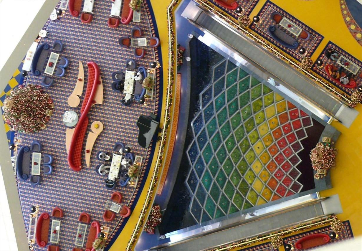 Gesti N Hotelera Burj Al Arab Burj Al Arab Interior