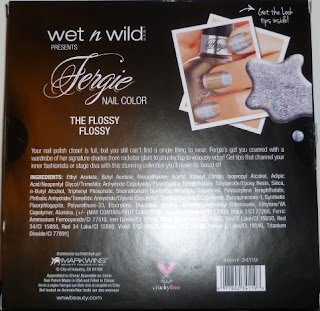 Wet n Wild Fergie Nail Color Box Set