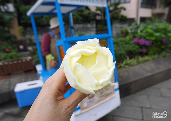 Glace en forme de rose, Nagasaki