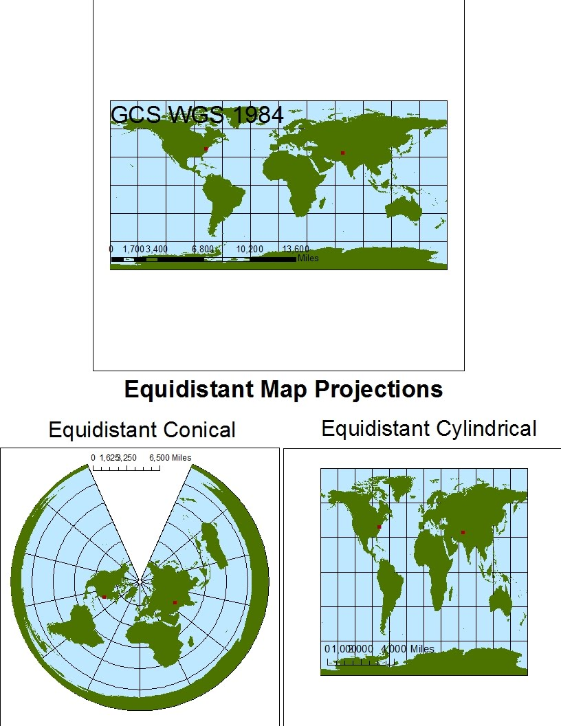 map projections What is a projection a map projection is a method for taking the curved surface of the earth and displaying it on something flat, like a computer screen or a piece of paper.