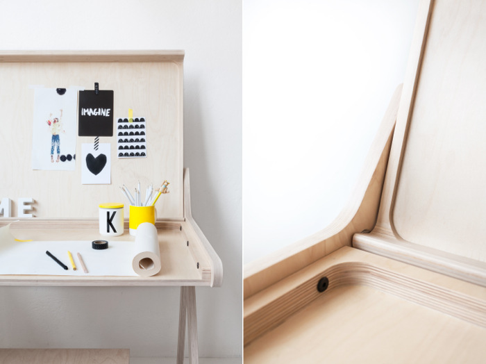 modern desk from Rafa-kids