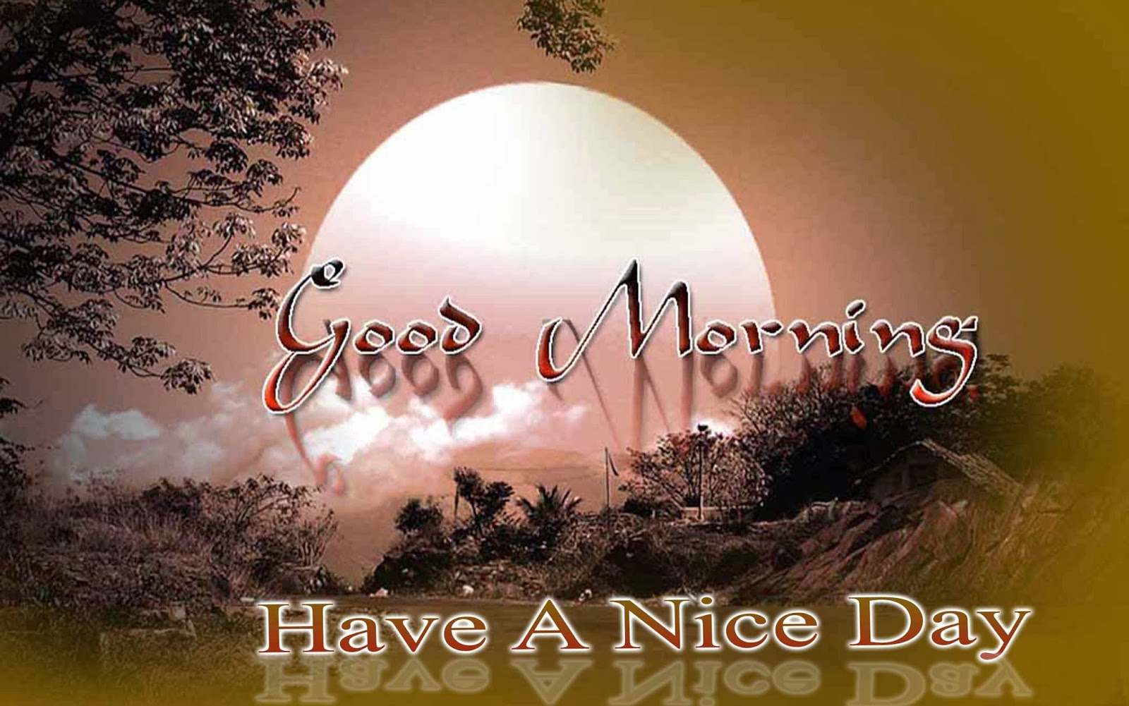 Good-Morning-Wishes-Wallpaper-Rises-Of-Sun-In-Early-Morning-Hd-Wide