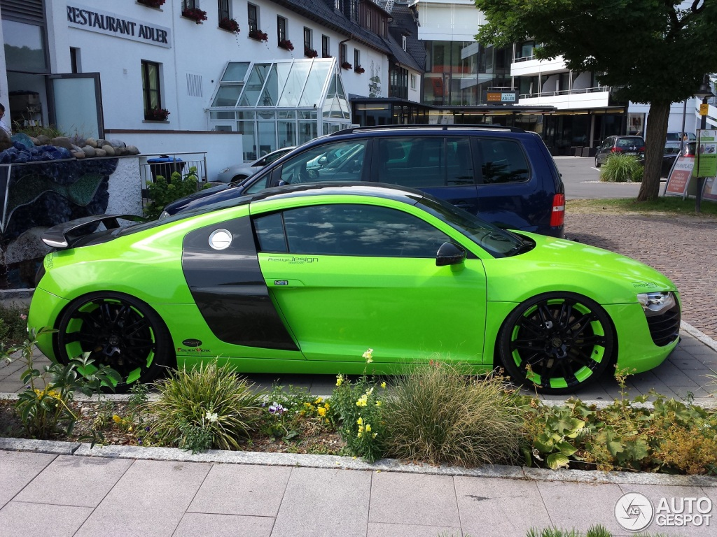 Lime Green Audi R8 With Matching Rims Love Or Hate
