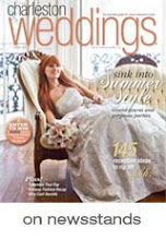Seen In Charleston Weddings Magazine