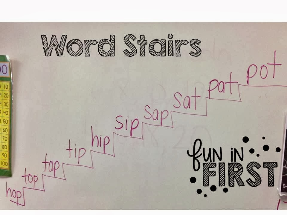 Word Stairs Fun In First