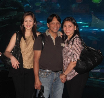 Sarah Geronimo Family