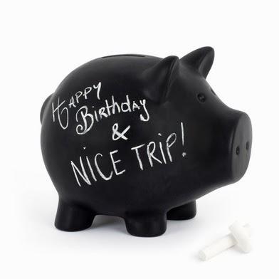Cerdito negro para tus ahorros