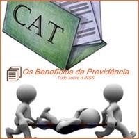 CAT, acidente de trabalho, INSS