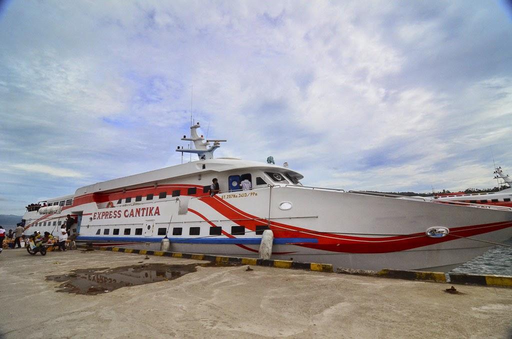 Kapal Cepat Cantika 77 Mulai Melayani Warga Sabu Raijua