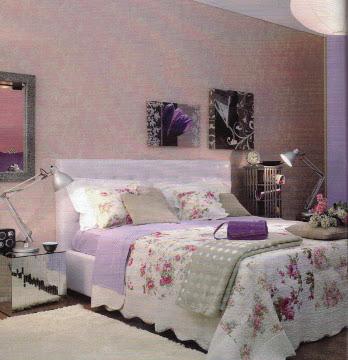 Decoración dormitorio tonosmorados