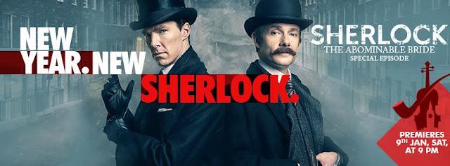 Sherlock - The Abominable Brideon AXN India Tv Series Plot Wiki,Promo,Timing,Cast
