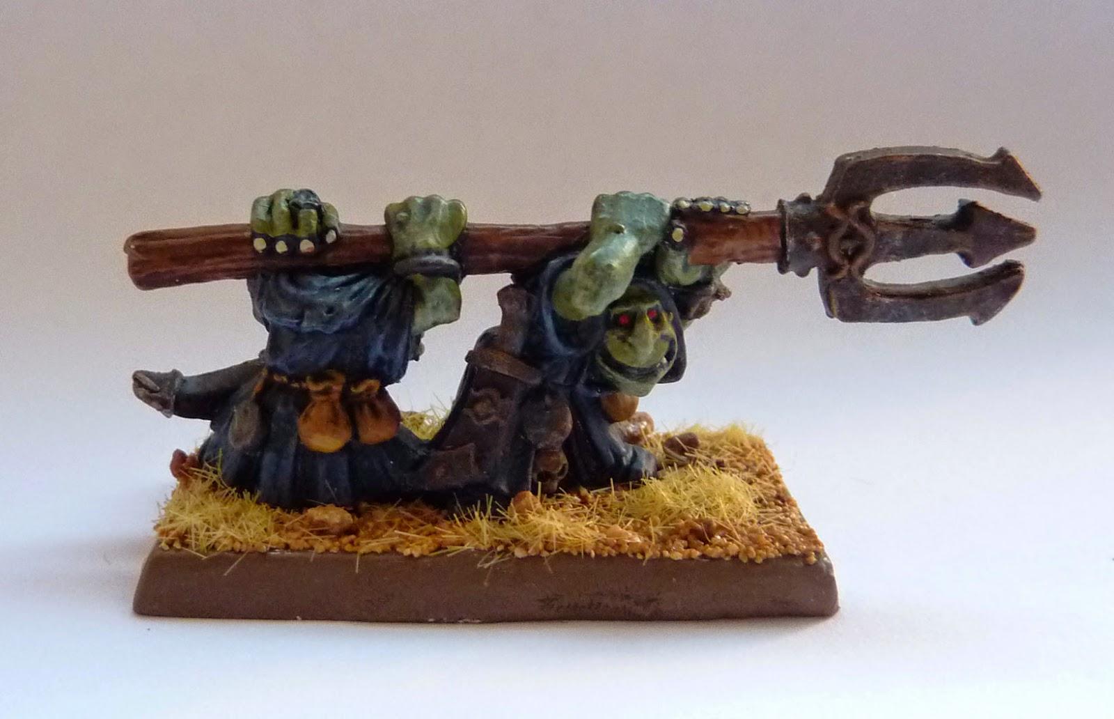 Warhammer Fantasy - Orcs & Goblins Squig Hunter Team