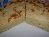 Tortilla de patatas con cebolla DIA