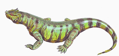 reptiles antidiluvianos Rhipaeosaurus