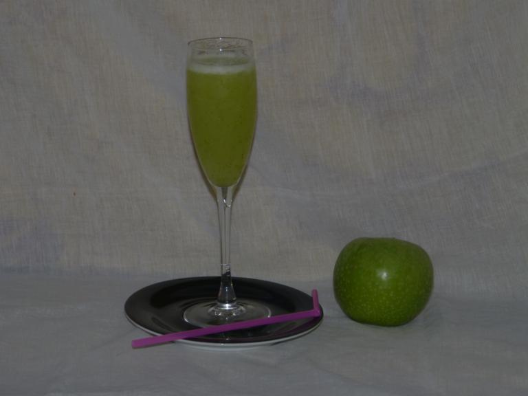 Trasteando en la cocina con jos angel sorbete de manzana - Sorbete de manzana verde ...