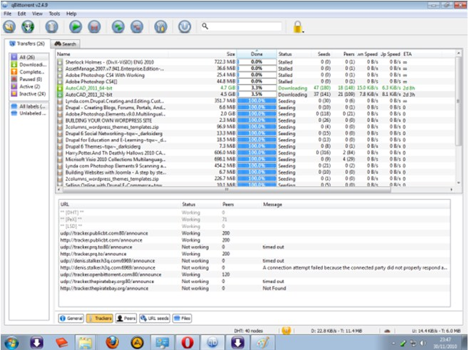 How to resume torrent